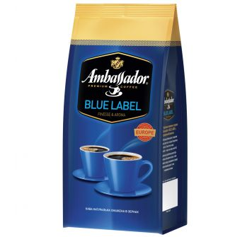 Ambassador Blue Label в зернах 250г / 1кг