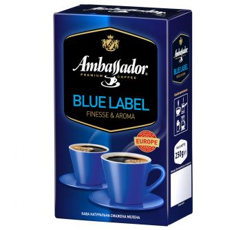 Ambassador Blue Label в зернах 250г