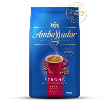 Coffee Ambassador Strong 500 g beans