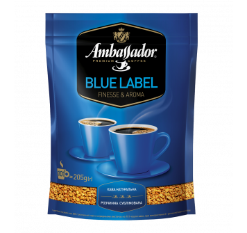 Ambassador Blue Label растворимый 205г