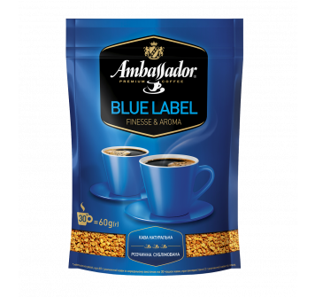 Ambassador Blue Label растворимый 60г