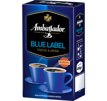Ambassador Blue Label 450 г молотый