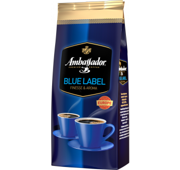 Ambassador Blue Label в зернах 1кг