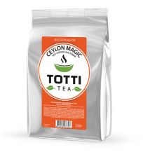 TOTTI TEA Black Ceylon leaf 250 g