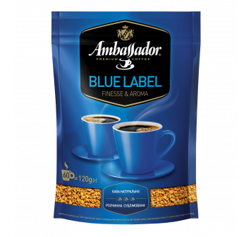 Ambassador Blue Label растворимый 120г