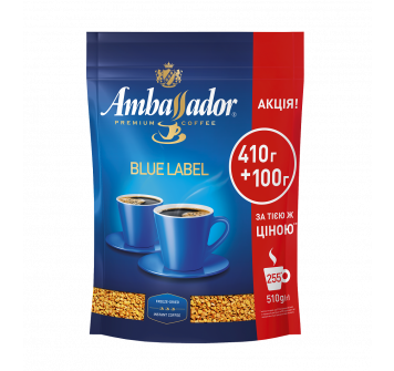 Ambassador Blue Label растворимый 510г