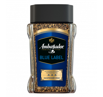 Ambassador Blue Label растворимый 190г