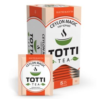 TOTTI TEA Black Ceylon leaf 50 g